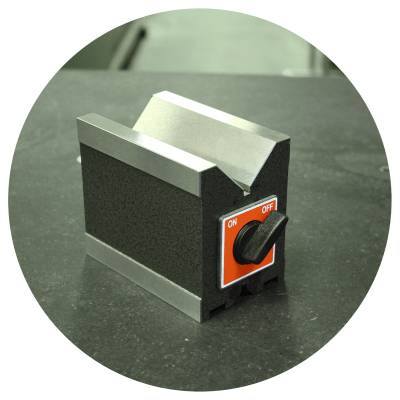 Magnetic V-Block from Eley Metrology