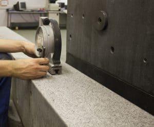 Granite Surface Calibration and Resurfacing