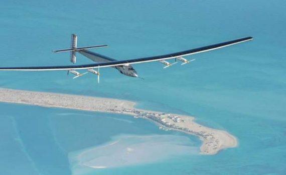 Solar Impulse 2 Electric Plane