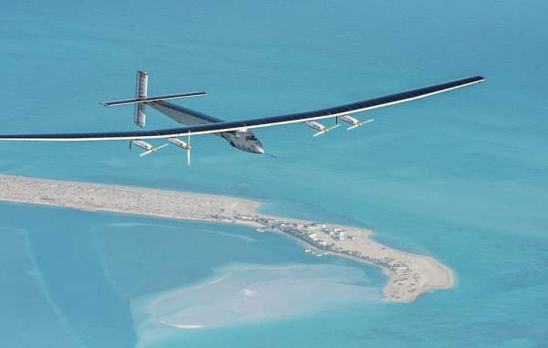 Solar Impulse 2 Electric Plane